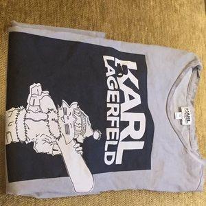 Karl Lagerfeld Kids boys long sleeve T shirt